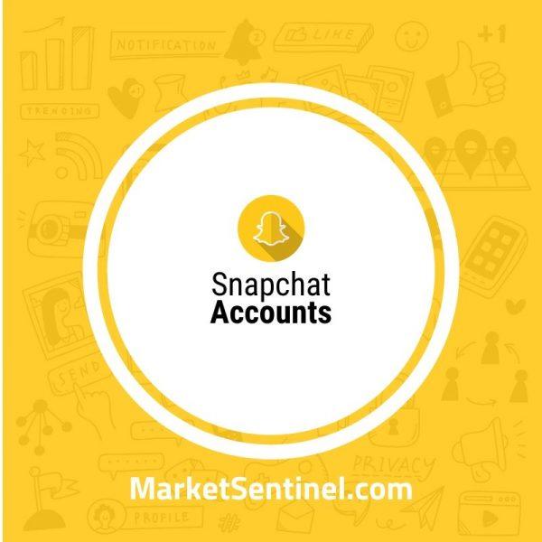 Buy Snapchat Accounts