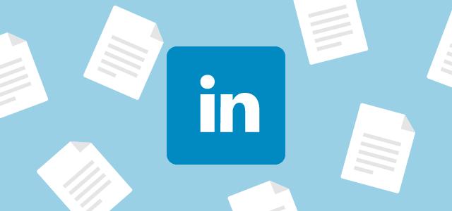 create relevant content on LinkedIn