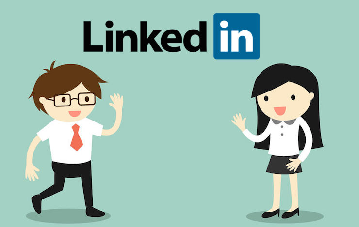 encourage and support active members on LinkedIn